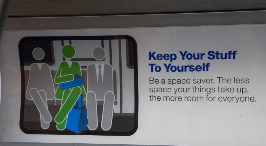 New Subway Signage